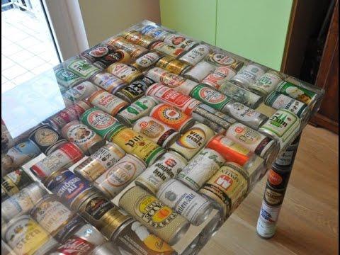 Ideas para reciclar latas de aluminio