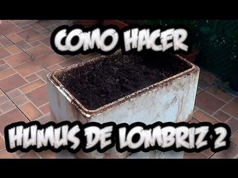 Como Hacer Humus De Lombriz #2 || Abono Organico || La Huertina De Toni