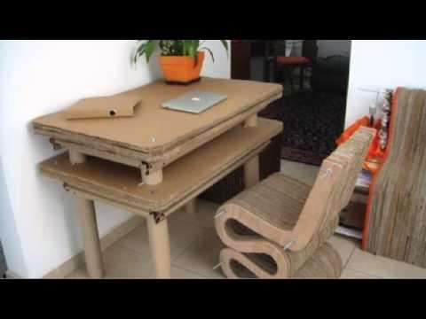 Mobiliario de Cartón Mediano