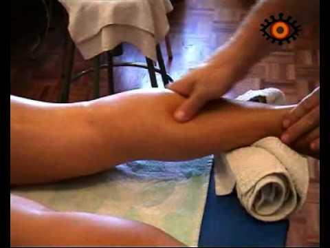 Técnicas básicas de masaje. Gemelos