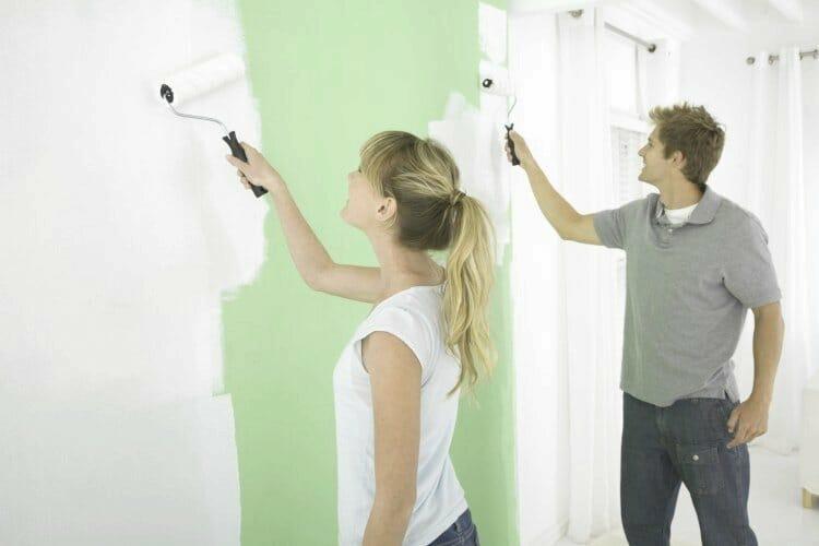 aprender a pintar paredes