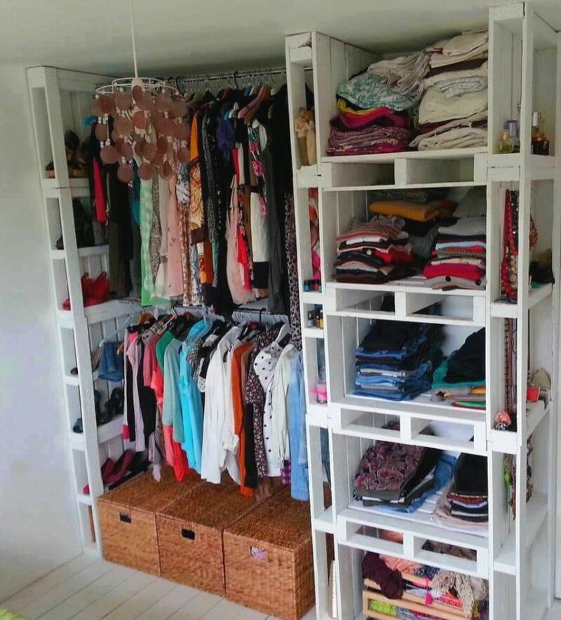 armario casero palets