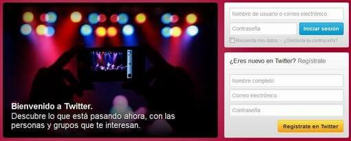 crear cuenta en twitter en español