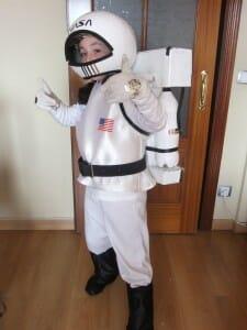 disfraz casero astronauta