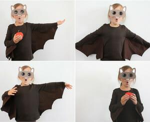 disfraz casero murcielago