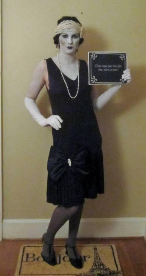 disfraz mujer pelicula años 20
