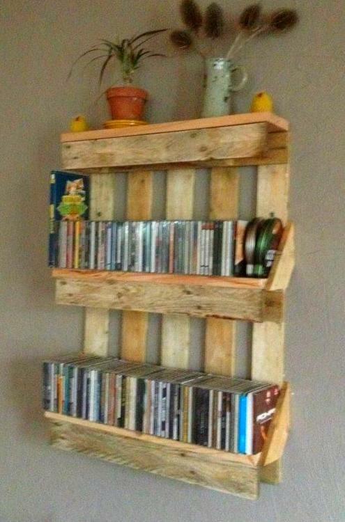 16 ideas de estanterias caseras originales - Estantes para libros ...