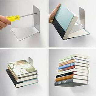 estanteria invisible libros