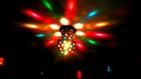 luces para fiesta disco