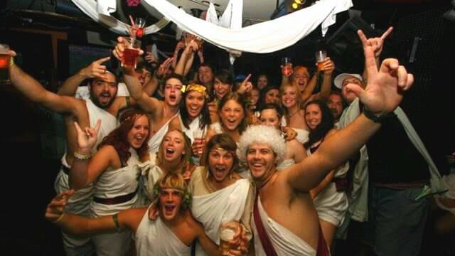 fiesta disfraces romanos