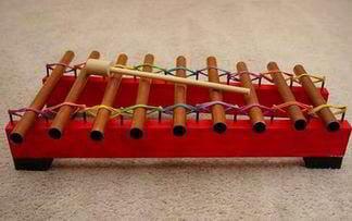 xilofono casero