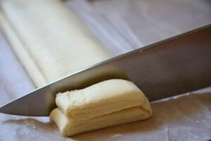 receta palmeritas hojaldre