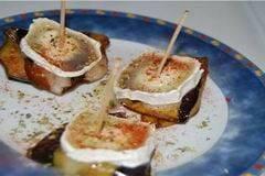 pincho berengenas queso