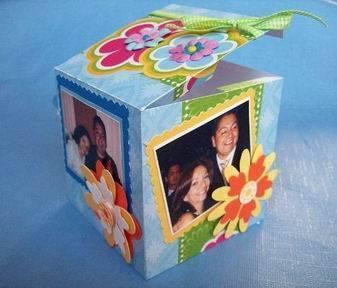 caja manual para regalos