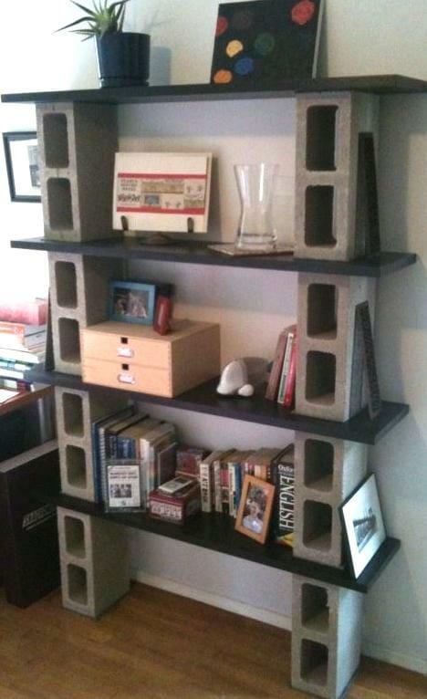 16 ideas de estanterias caseras originales - Estanterias de pvc ...
