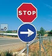 señales de trafico
