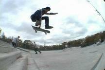 trucos skate grab salto