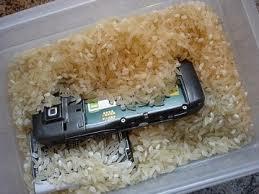 secar telefono mojado