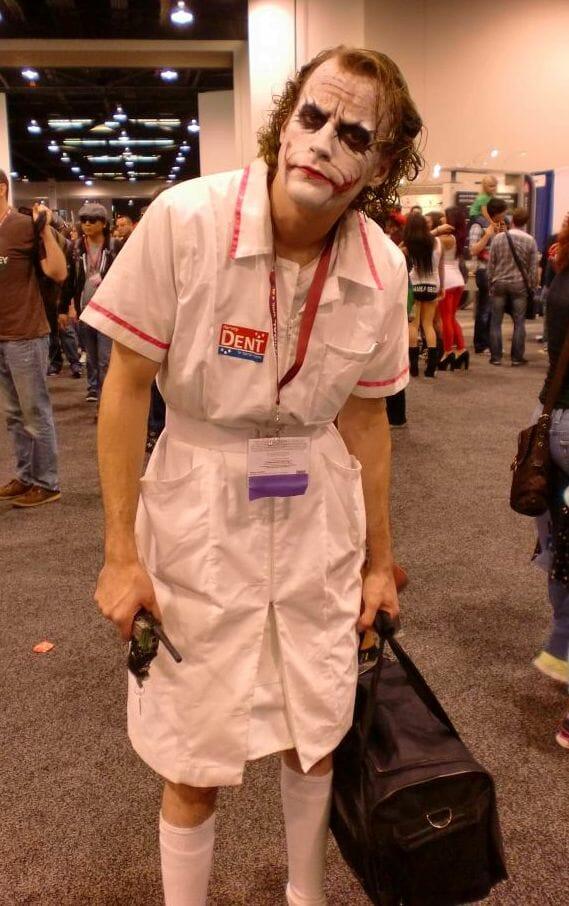 disfraz casero joker