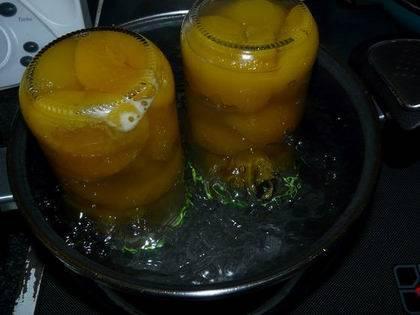 conservar fruta almibar
