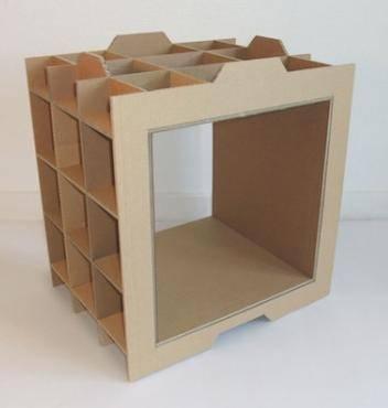 planos mueble carton