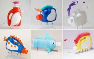 manualidades botellas plastico