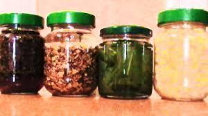 tarros hacer aceites aromaticos