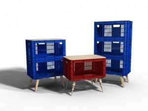 muebles cajas plastico