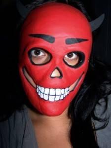 mascara calavera casera