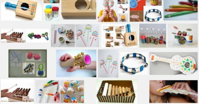 instrumentos caseros para regalo