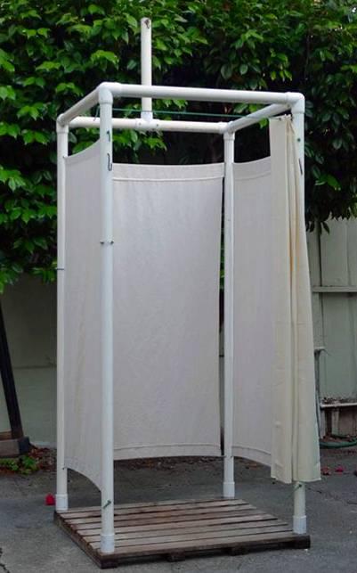 ducha portatil casera