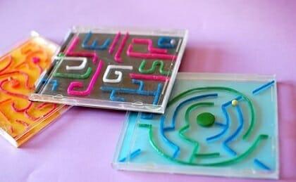 juego laberinto caja cd