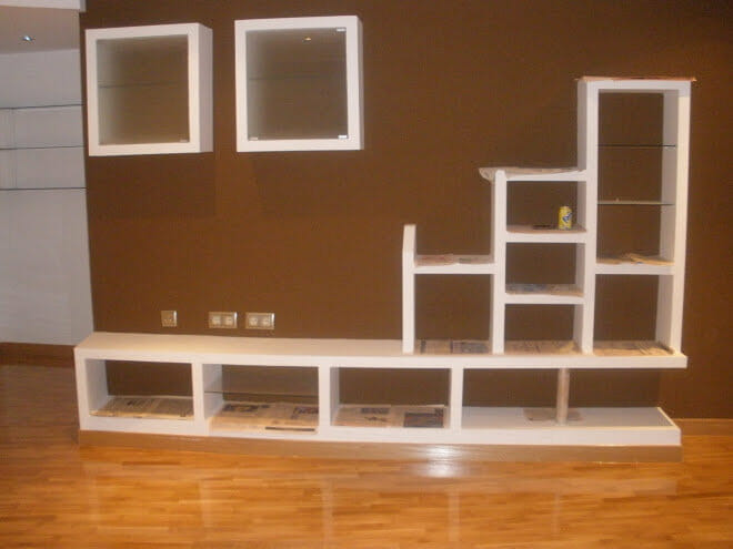 Pin muebles pladur para salon genuardis portal on pinterest for Programa para crear muebles 3d