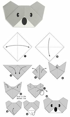 Figuras de papiroflexia para ni os for Origami swan easy step by step