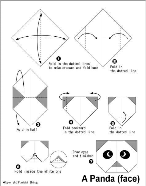 papiroflexia-panda