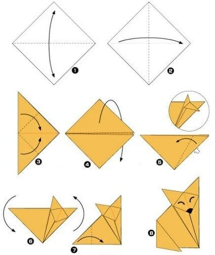 zorro-origami-pasos