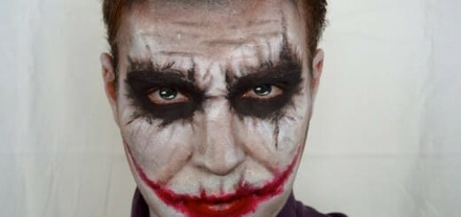 maquillaje joker batman