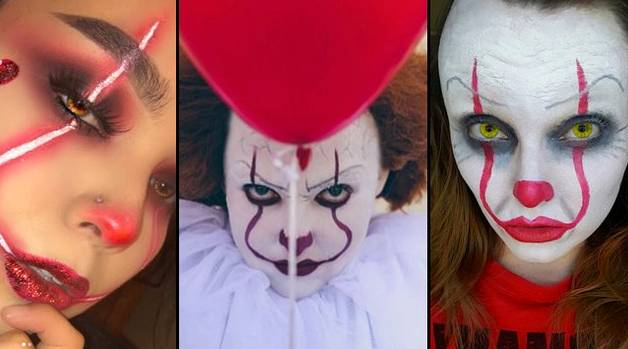 maquillaje pennywise it