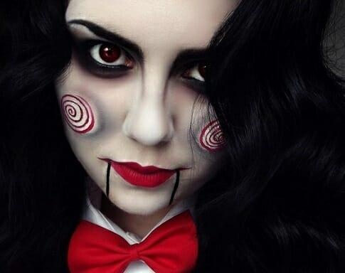 maquillaje saw