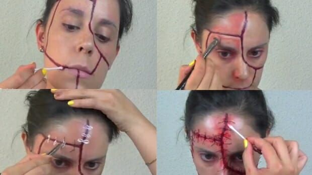 maqullaje-cicatrices-halloween