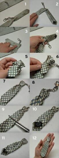 regalo llavero corbata