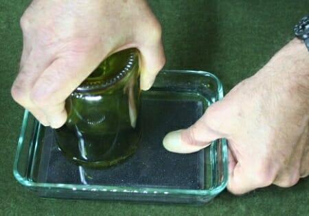 lijar borde vaso vidrio