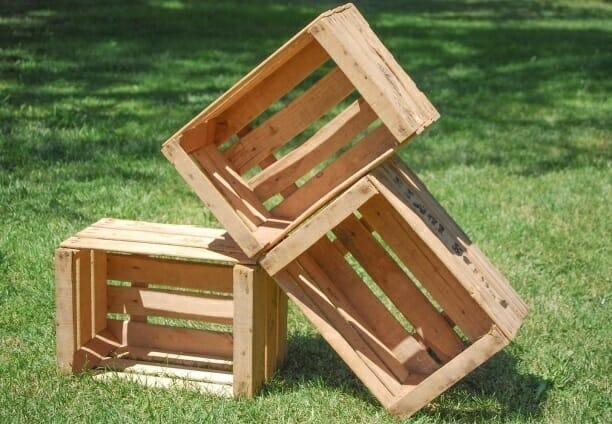 cajas madera frutas