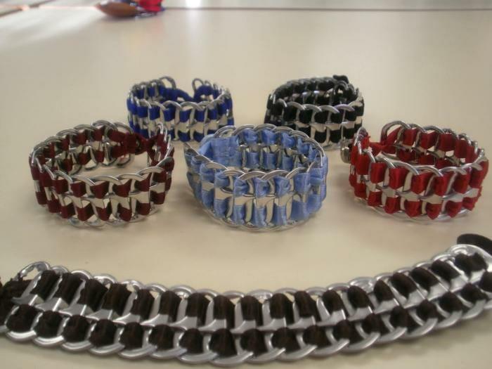 20 ideas para reciclar anillas de latas - Reciclar latas de refresco ...