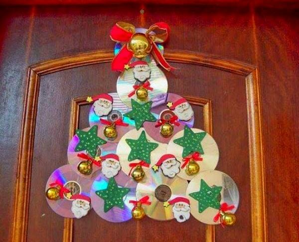 30 ideas para reciclar cd viejos - Ideas originales navidad ...