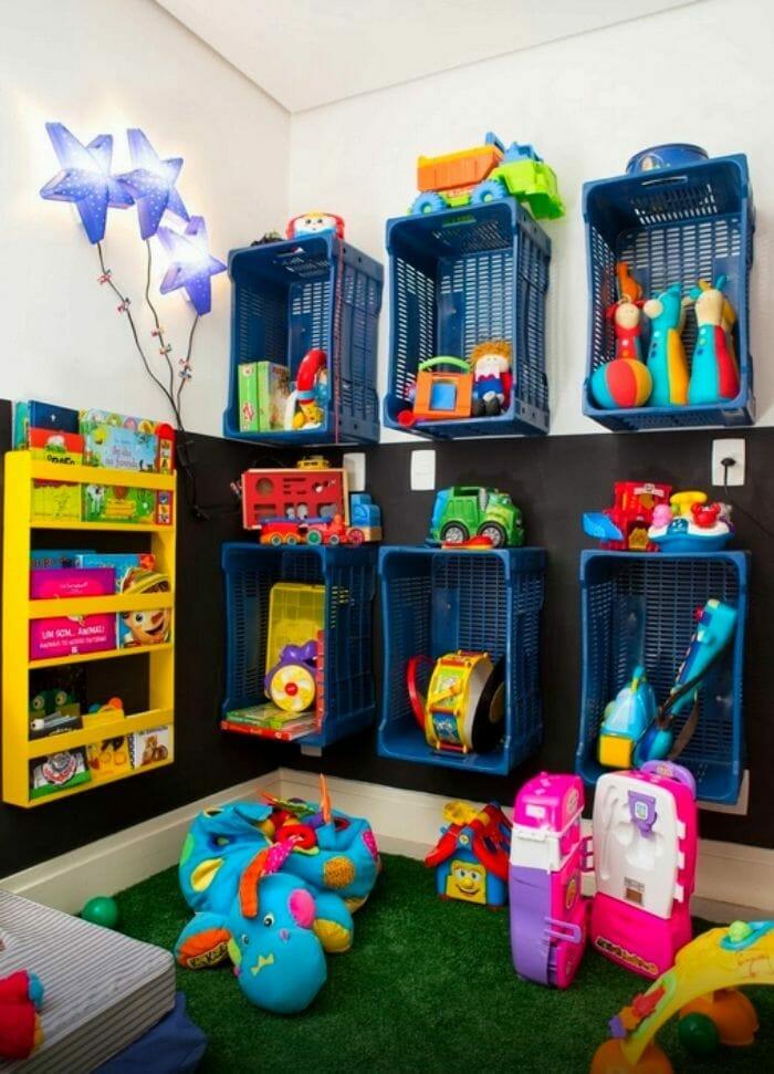 cajas guardar juguetes