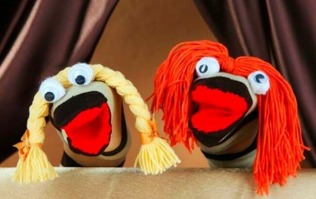 titeres y marionetas caseros